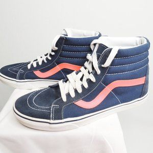Vans High Top Navy Suede
